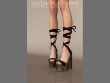 Pure Poison - Vivian Platforms Ad - ons for Belleza, Maitreya, Slink Medium Feet