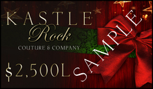 :KR: Gift Card 2500L - Happy Holidays!