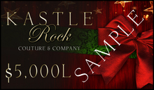 :KR: Gift Card 5000L - Happy Holidays!