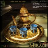 =Mirage= Arabic Tea Set - All