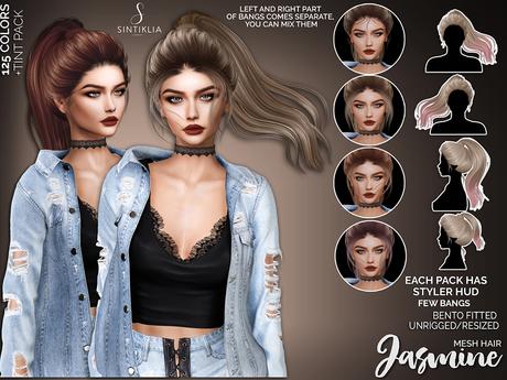 Sintiklia - Hair Jasmine - Naturals