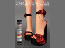 Pure Poison - Camila Sandals Ad - ons for Belleza, Maitreya, Slink High Feet