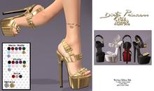 *Dirty Princess*- Sassy Bae Princess Heels w/Hud 11 Colors