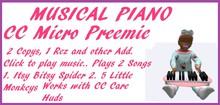 Musical Piano Micro