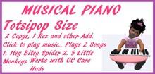 Musical Piano Totsi