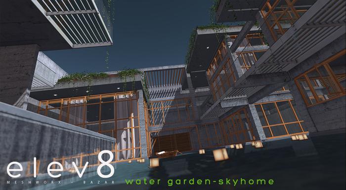 elev8~Water Garden (skyhome) BOXED