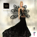 ::TD:: Solstice Gown with Appliers ~ Black [Maitreya,Belleza,Omega,TMP,Slink,Classic]