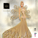 ::TD:: Solstice Gown with Appliers ~ Cream [Maitreya,Belleza,Omega,TMP,Slink,Classic]