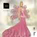 ::TD:: Solstice Gown with Appliers ~ Pink [Maitreya,Belleza,Omega,TMP,Slink,Classic]