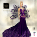 ::TD:: Solstice Gown with Appliers ~ Purple [Maitreya,Belleza,Omega,TMP,Slink,Classic]