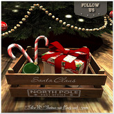 !! Follow US !! Christmas crate (candy cane) box