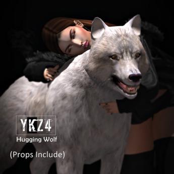 YKZ4.Hugging Wolf