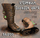 Steampunk Engineer Boots (Boxed)