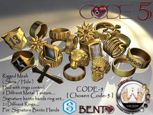 CODE-5 [ Chosen Code - 5 ] Signature GIANNI