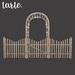 tarte. kenwood fence set (natural)