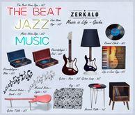 [ zerkalo ] Music is Life - Jazz Neon Sign - Blinking On/Off