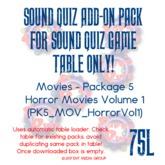 Sound Quiz PK5_MOV_Horror Vol1 add on pack