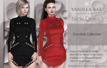 * Vanilla Bae * Nicki Dress in  / Maitreya, Slink Hourglass, Belleza Freya, Ebody Curvy : 60% Off Black Friday