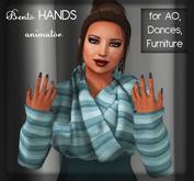 ***AnimAlive BENTO HANDS animator (for AO, dance or furniture).