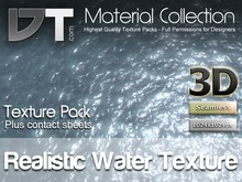 Realistic Animated Water Texture - Full Perm - DT Material Collection