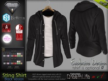 FashionNatic - STING BLACK Single Color