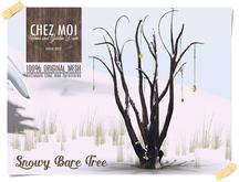 Snowy Bare Tree ♥ CHEZ MOI