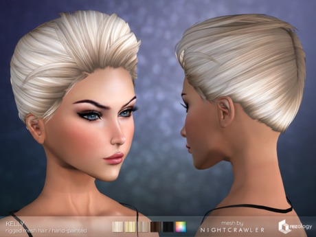 rezology Kelly (Bento RIGGED mesh hair) NC - 557 complexity