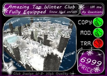 *TOP 4K Land Club * Amazing Winter Club * Fully Equipped *