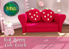 .BASIL. Red Berry Couch - rez me