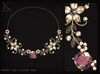(Kunglers) Simara necklace - amethyst