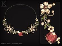 (Kunglers) Simara necklace - quartz