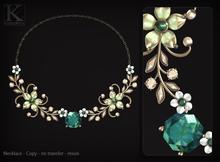 (Kunglers) Simara necklace - turmaline