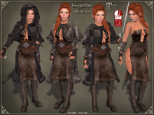 DEMO Lagertha Armor by Caverna Obscura - for Maitreya and SLINK Physique mesh body only