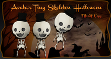 Avatar Tiny Skeleton Halloween*Mesh* wear me
