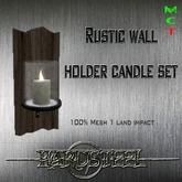 -]HS-Karton[-Rustic Wall Candleholder