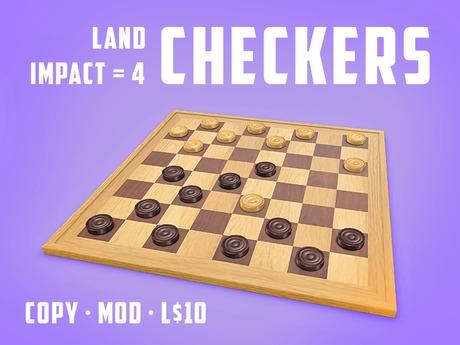 Play the Checkers Game (LI=4)