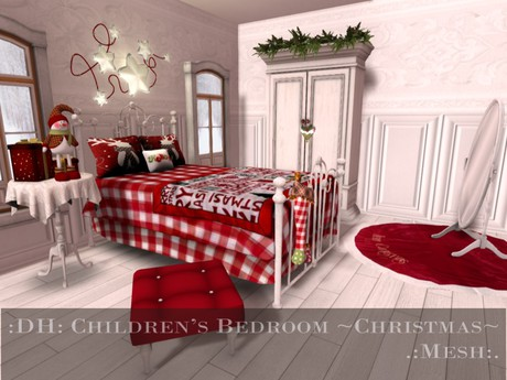 :DH: Children's Bedroom Red ~Christmas~