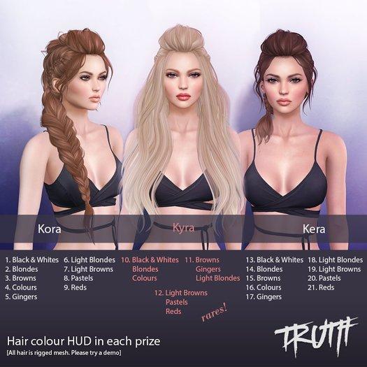 TRUTH HAIR Kora [Colours] Boxed