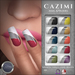 CAZIMI: Nails - Flair White Tipped SALE RACK