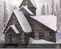 +Spellbound+ Winter Solstice Cabin - Dark - Wear