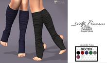 *Dirty Princess* Dream Baby Princess Yoga Socks w/Hud 7 Colors