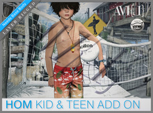 ♥ AVI{L} HOM Kids & Teens Add-On (male)