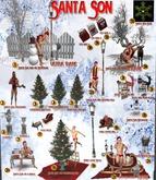 15 Santa Son Snowman