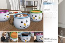 Sway's [Snowman] Mugs