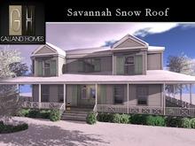 Savannah Snow Roof - Package