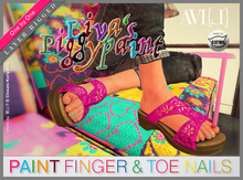 ♥  AVI{L} Piggypaint Layer (Nailpaint Layer and 2 HUDs)