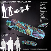 [Since1975]-Skateboard Pineapple & AO