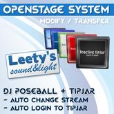 [LSL] OpenStage System