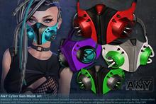 A&Y Cyber Gas Mask Jet