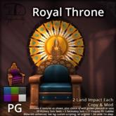 [DDD] Royal Throne - PG - Texture Change Fantasy Throne with Cuddles